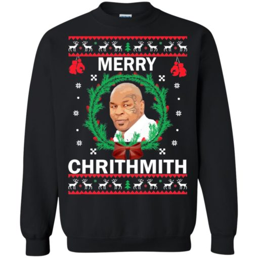 Mike Tyson Merry Christmas sweater shirt - image 4562 510x510