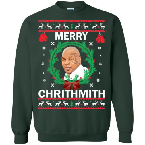 Mike Tyson Merry Christmas sweater shirt - image 4565 510x510
