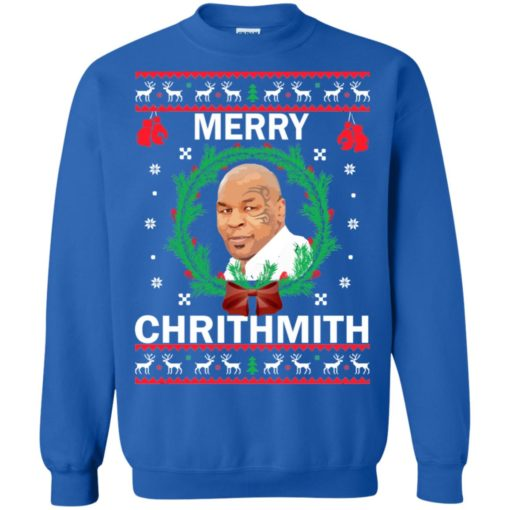 Mike Tyson Merry Christmas sweater shirt - image 4566 510x510
