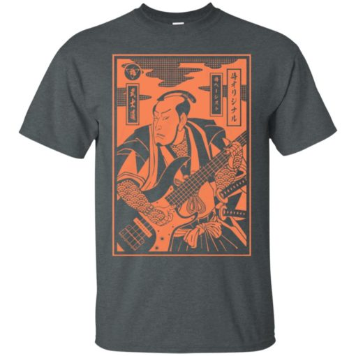 Bassist Samurai shirt - image 4636 510x510