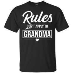 Rule don't apply to grandma shirt - image 4643 247x247