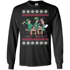 Bob's burgers ELF Merry Christmas sweatshirt shirt - image 4789 247x247