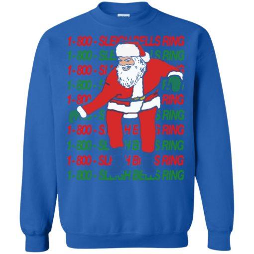 1 800 Sleigh Bells Ring Christmas sweatshirt shirt - image 4816 510x510