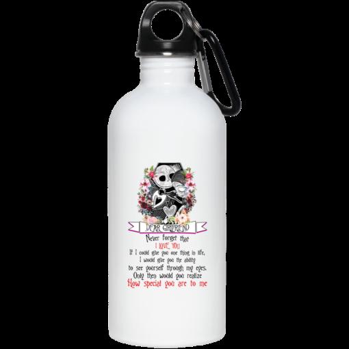 Jack Dear girlfriend never forget that I love you mug shirt - image 5 510x510
