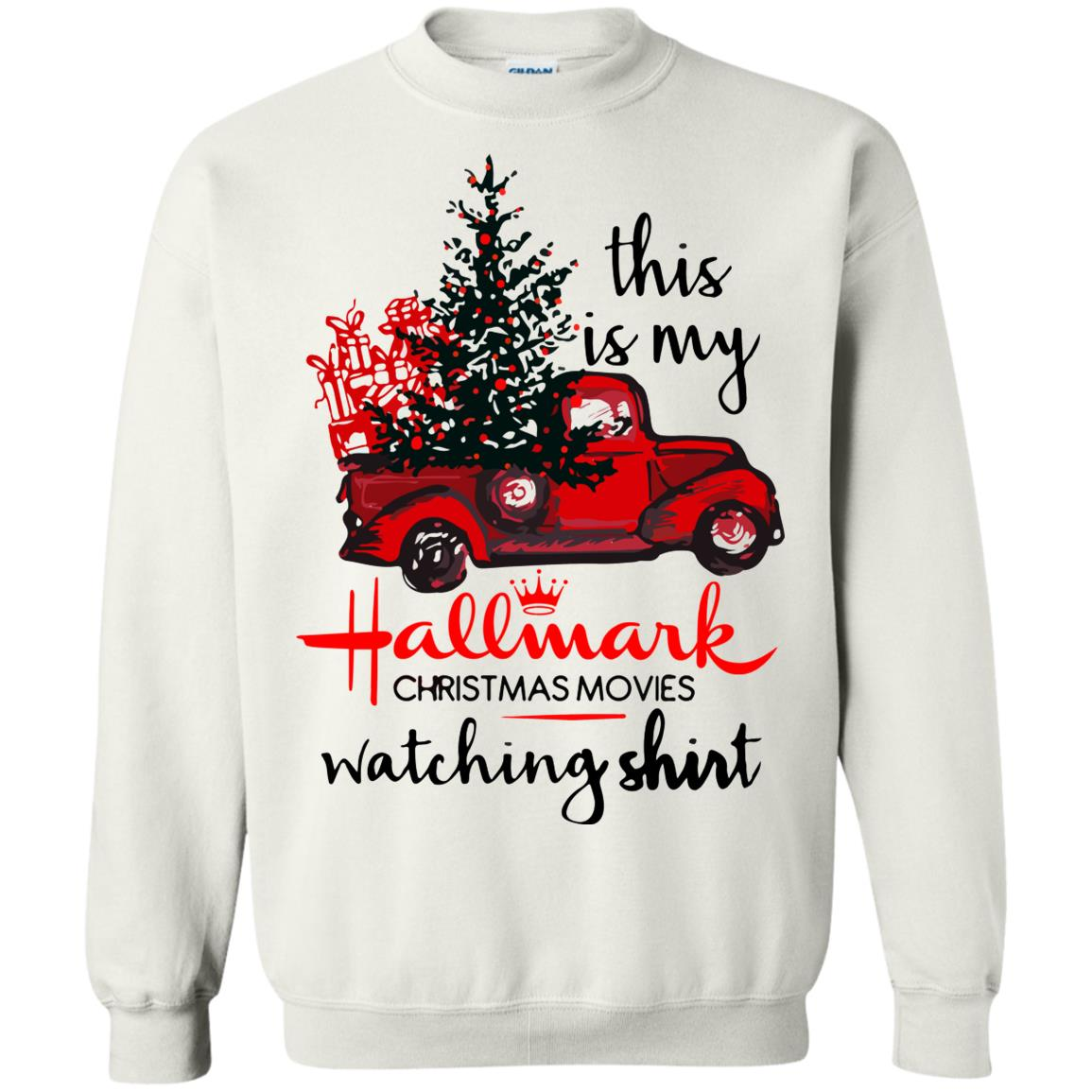 a8cb3c544acf7 Hallmark Christmas movie sweatshirt shirt - image 5109 510x510