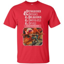 Dungeons and diners and Dragons and drive ins and dives shirt - image 5143 247x247