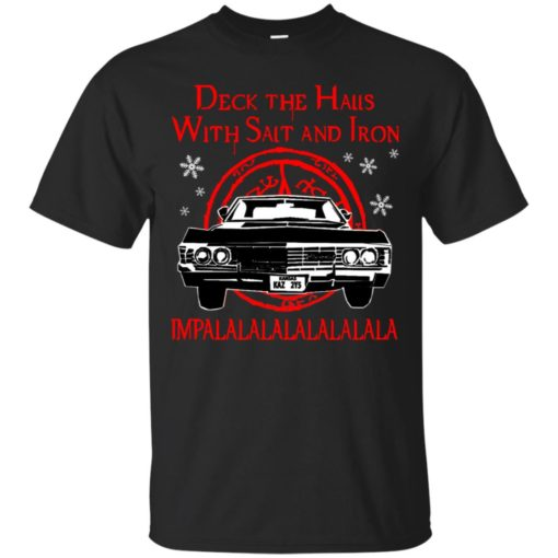 Deck the halls with salt and iron impalalala shirt - image 5162 510x510