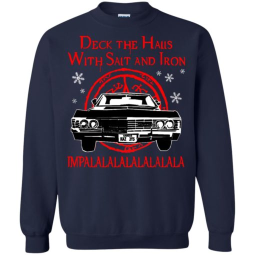 Deck the halls with salt and iron impalalala shirt - image 5168 510x510