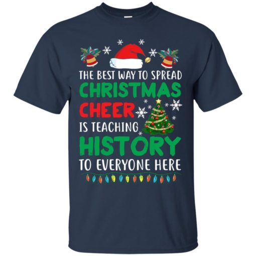 The best way to spread Christmas cheer sweatshirt shirt - image 5185 510x510
