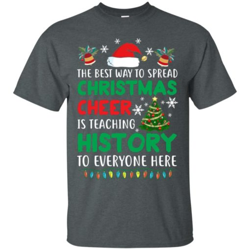 The best way to spread Christmas cheer sweatshirt shirt - image 5186 510x510