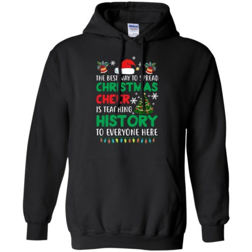 The best way to spread Christmas cheer sweatshirt shirt - image 5188 510x510