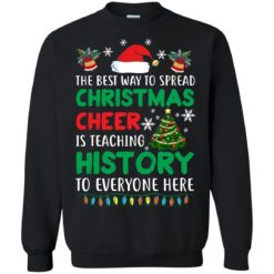 The best way to spread Christmas cheer sweatshirt shirt - image 5189 247x247