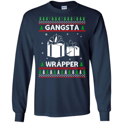 Gangsta Wrapper ugly sweater shirt - image 5282 510x510
