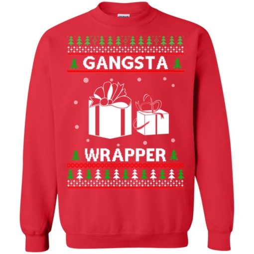 Gangsta Wrapper ugly sweater shirt - image 5286 510x510