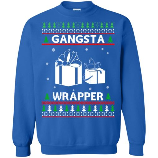 Gangsta Wrapper ugly sweater shirt - image 5288 510x510