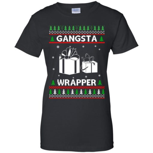Gangsta Wrapper ugly sweater shirt - image 5289 510x510
