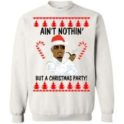 Puff Daddy Ain't Nothin but a Christmas Party Sweater shirt - image 529 247x247
