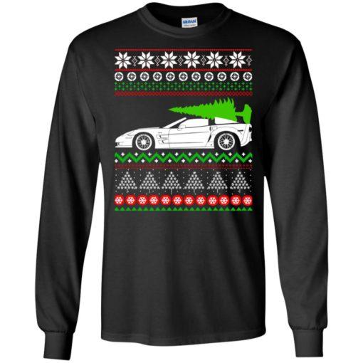 Corvette C6 Christmas ugly sweater shirt - image 5351 510x510