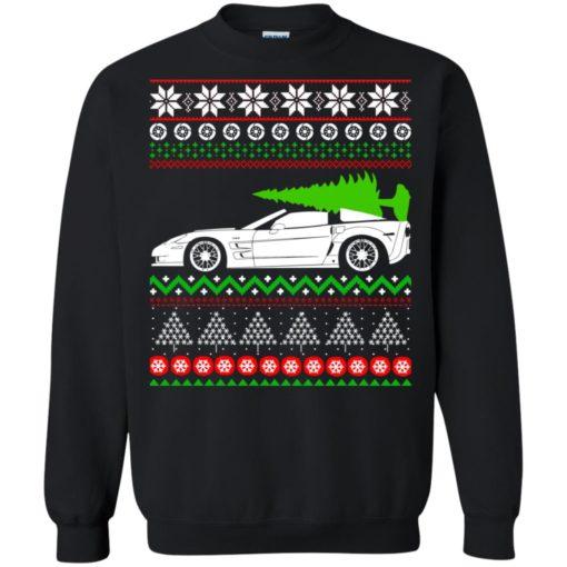 Corvette C6 Christmas ugly sweater shirt - image 5354 510x510