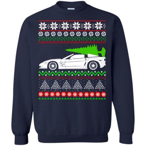 Corvette C6 Christmas ugly sweater shirt - image 5355 510x510