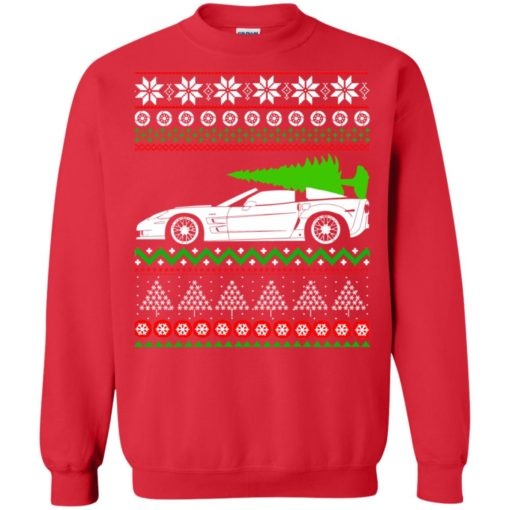 Corvette C6 Christmas ugly sweater shirt - image 5356 510x510