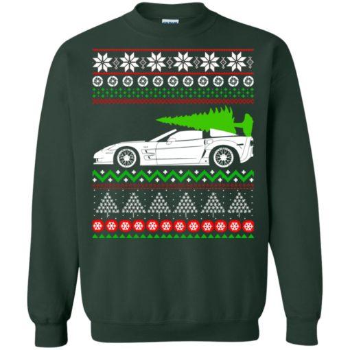 Corvette C6 Christmas ugly sweater shirt - image 5357 510x510