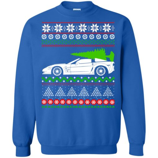 Corvette C6 Christmas ugly sweater shirt - image 5358 510x510