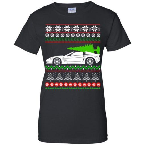 Corvette C6 Christmas ugly sweater shirt - image 5359 510x510