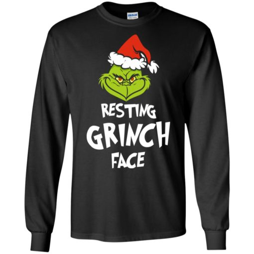 Resting Grinch Face Mr Grinch Christmas sweater shirt - image 5381 510x510