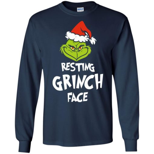 Resting Grinch Face Mr Grinch Christmas sweater shirt - image 5382 510x510
