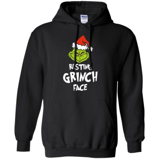 Resting Grinch Face Mr Grinch Christmas sweater shirt - image 5383 510x510
