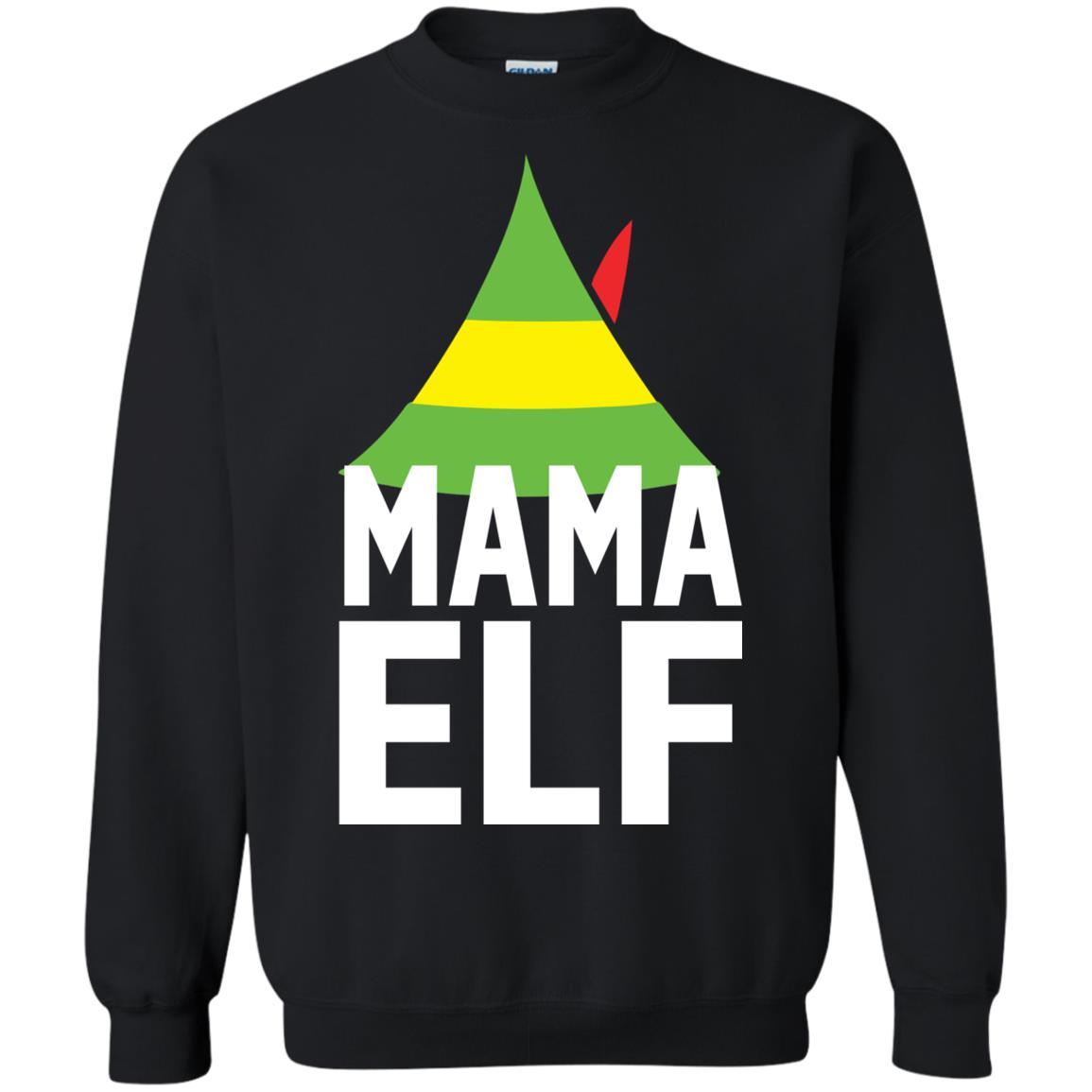 Mama elf buddy the elf christmas sweater hoodie long sleeve jpg 1155x1155  Mama elf d5cb23259