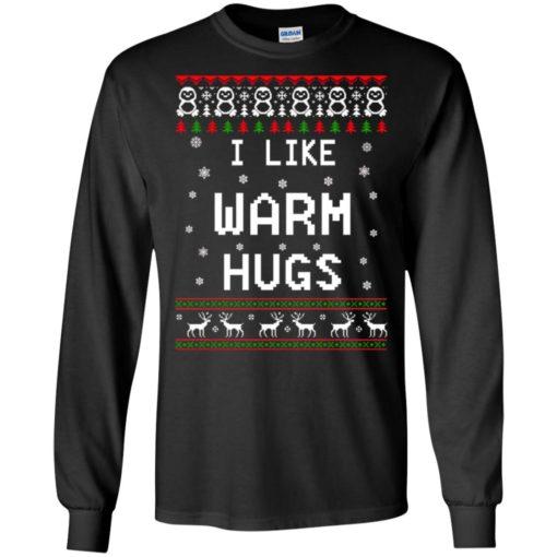 I like warm hugs Christmas ugly sweater shirt - image 5401 510x510