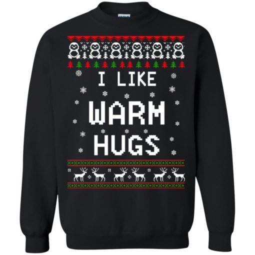 I like warm hugs Christmas ugly sweater shirt - image 5404 510x510