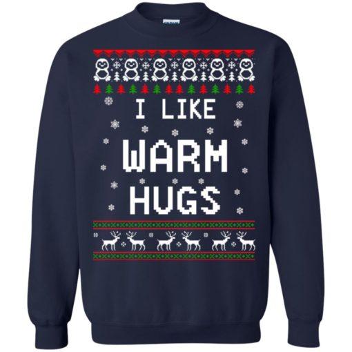 I like warm hugs Christmas ugly sweater shirt - image 5405 510x510
