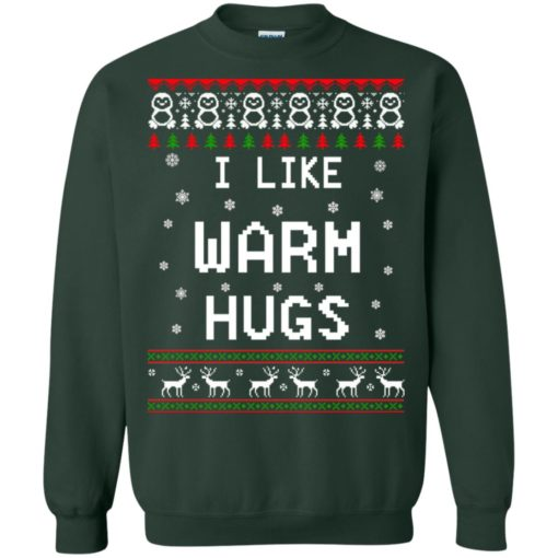 I like warm hugs Christmas ugly sweater shirt - image 5407 510x510