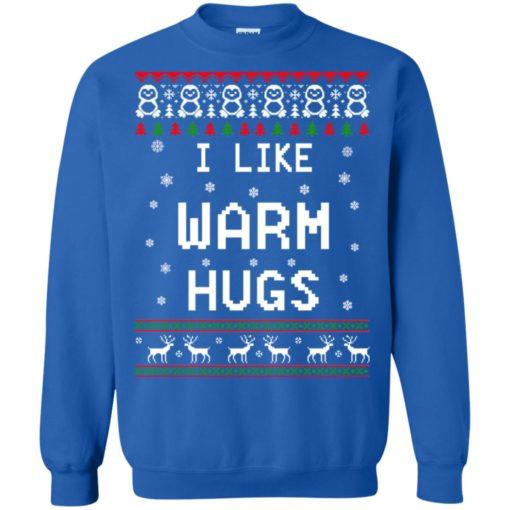 I like warm hugs Christmas ugly sweater shirt - image 5408 510x510