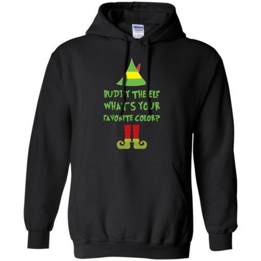 Buddy The Elf, What's Your Favorite Color Christmas sweatshirt shirt - image 5423 510x510