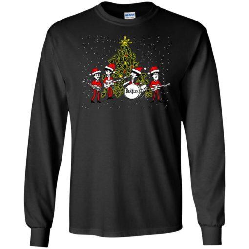 The beatles chibi Christmas ugly sweater shirt - image 5461 510x510