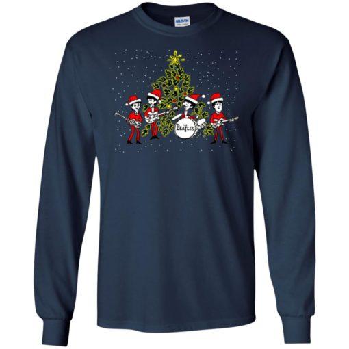The beatles chibi Christmas ugly sweater shirt - image 5462 510x510