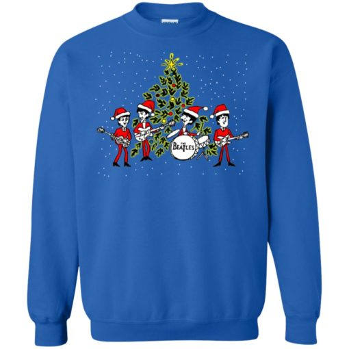The beatles chibi Christmas ugly sweater shirt - image 5468 510x510