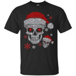 Santa hat skull Diamond Christmas ugly sweatshirt shirt - image 5510 247x247