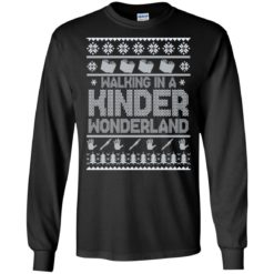 Walking in a kinder wonderland sweater shirt - image 5597 247x247
