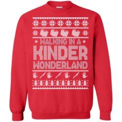 Walking in a kinder wonderland sweater shirt - image 5602 247x247