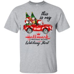 Snoopy This is my Hallmark christmas movie watching shirt - image 5646 247x247