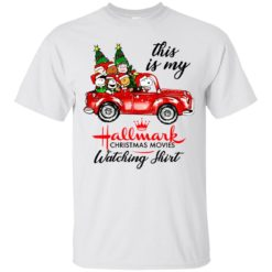 Snoopy This is my Hallmark christmas movie watching shirt - image 5647 247x247