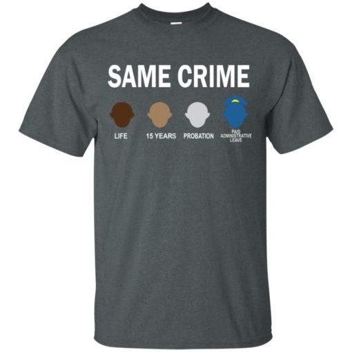 Colin Kaepernick Same Crime shirt - image 5658 510x510