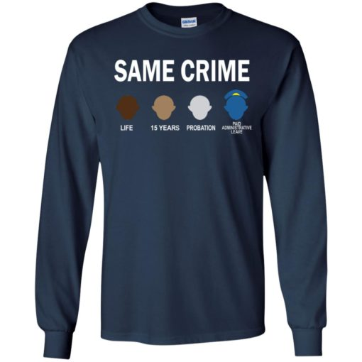 Colin Kaepernick Same Crime shirt - image 5660 510x510