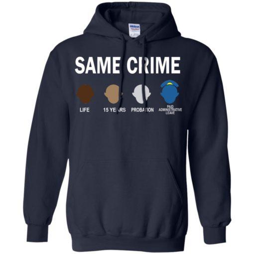 Colin Kaepernick Same Crime shirt - image 5662 510x510