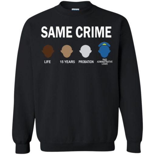 Colin Kaepernick Same Crime shirt - image 5663 510x510